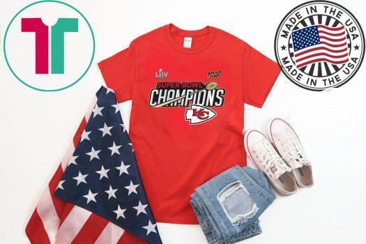 Champions Trophy Kansas City Chiefs Super Bowl LIV Shirt