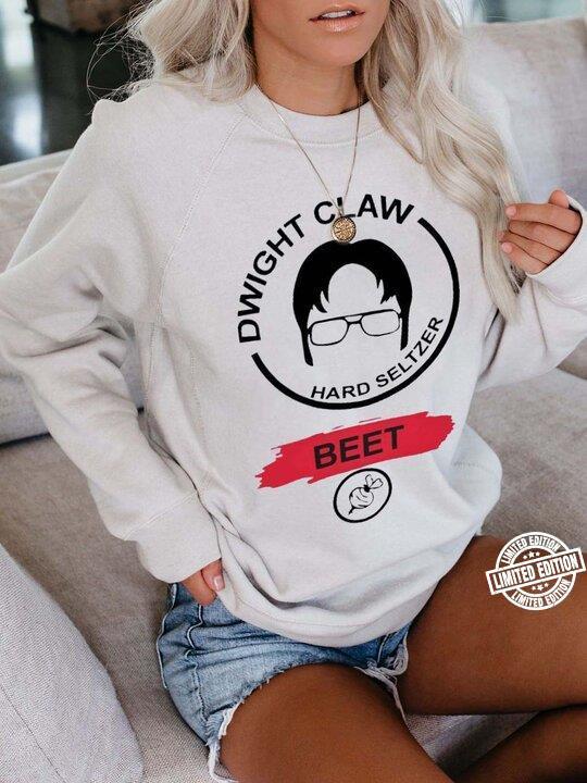 Dwight claw hard seltzer beet shirt