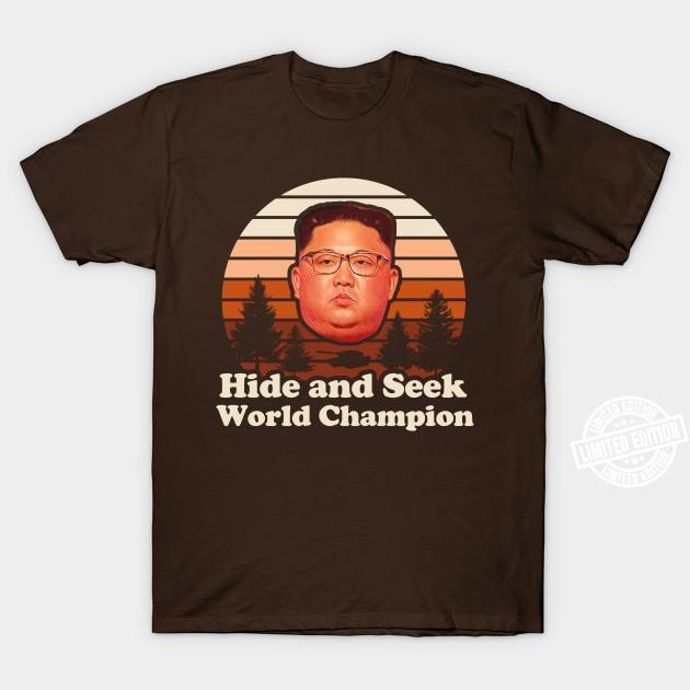 Hide and seek world champion shirt