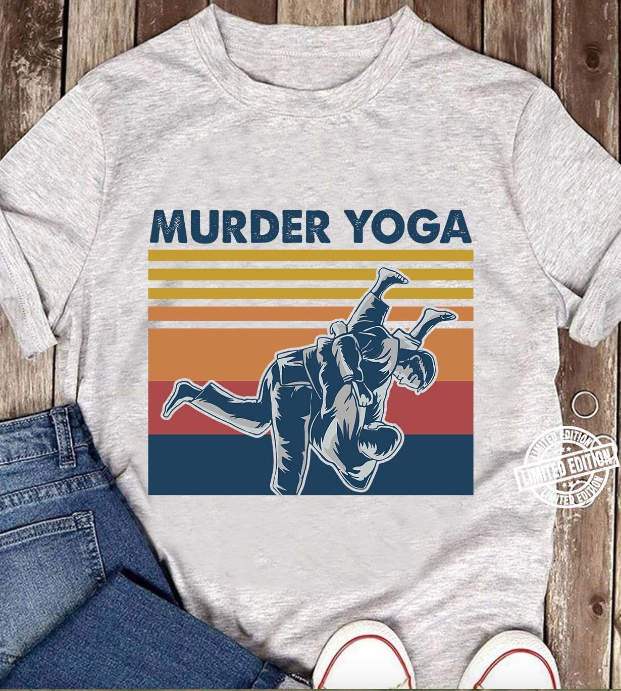 JIU JITSU Murder Yoga Shirt